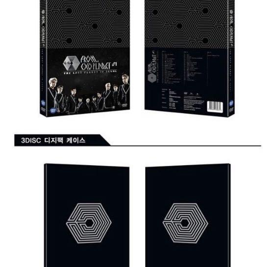CLEARANCE STOCK 💸 #EXO FROM EXO PLANET #1 - THE LOST PLANET IN SEOUL  