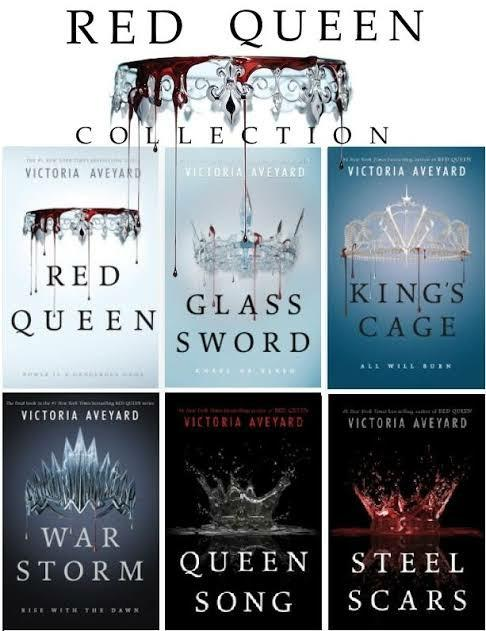 [eBook Email Fulfillment] Victoria Aveyard: Red Queen Series