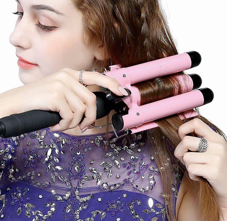 Hair curler waver mermaid hair curling iron ceramic 32mm bnib