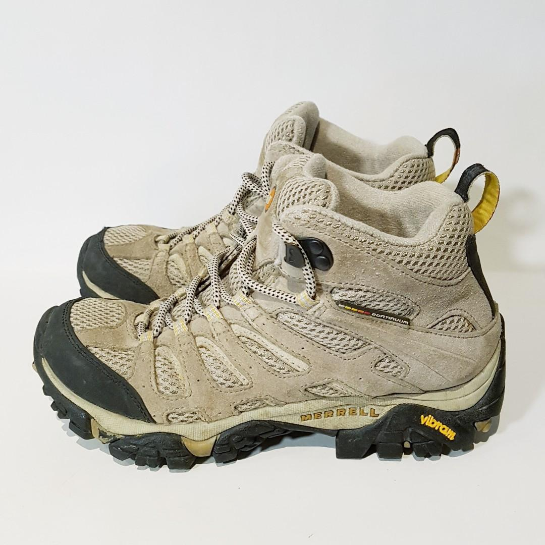 Merrell Moab Ventilator Mid Hiking Boots - Size 6.5