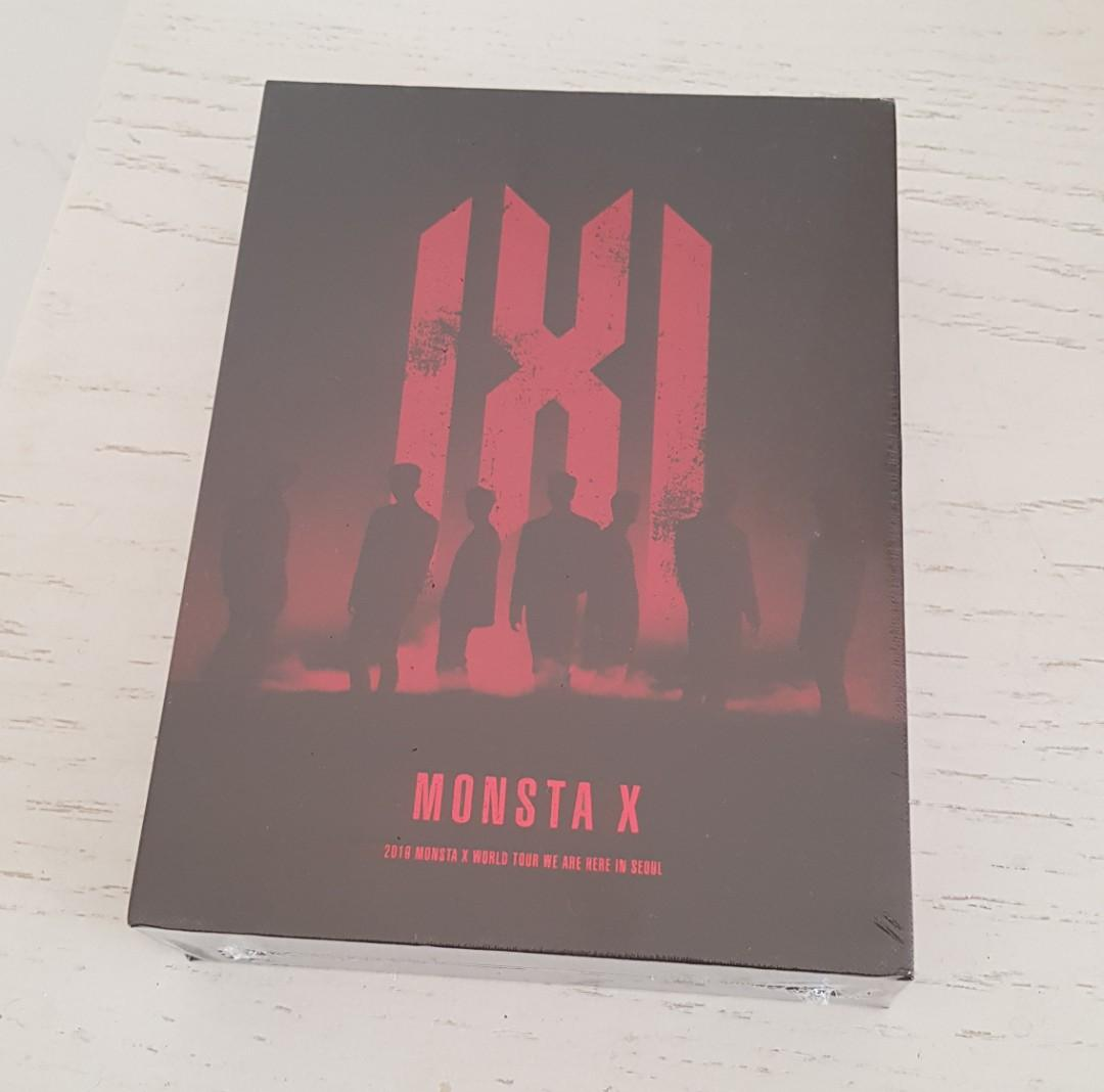 MONSTA X 2019 WORLD TOUR 'WE ARE HERE' IN SEOUL DVD
