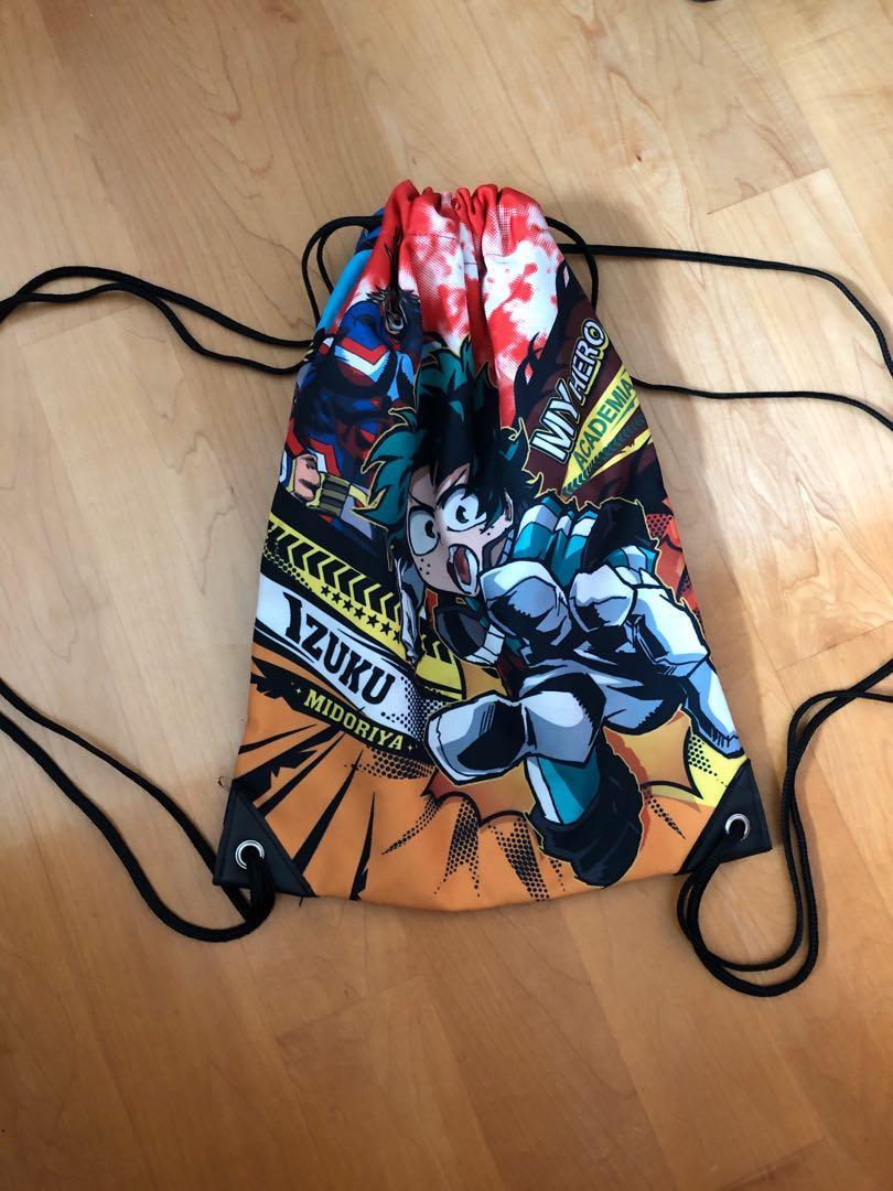 my hero academia drawstring bag 我的英雄學院 袋