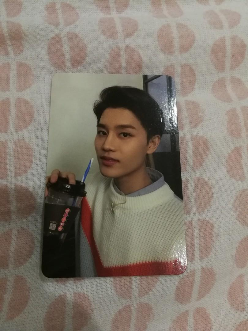 NCT 127 TAEIL OFFICIAL PHOTOCARD EMPATHY & REGULATE
