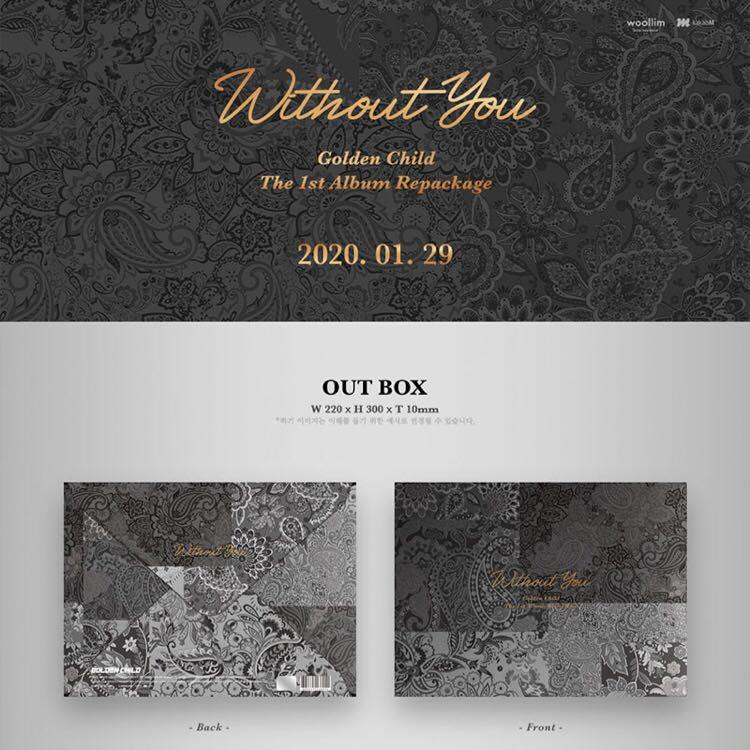 [PO] Golden Child - Without You (The 1st Repackaged Album)