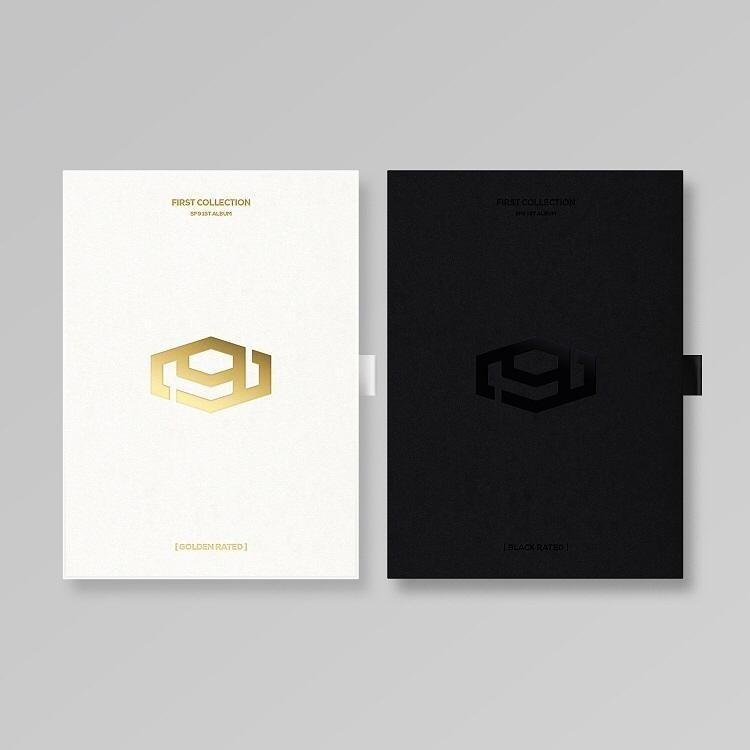 SF9 1st Album FIRST COLLECTION [GOLDEN RATED Ver. / BLACK RATED