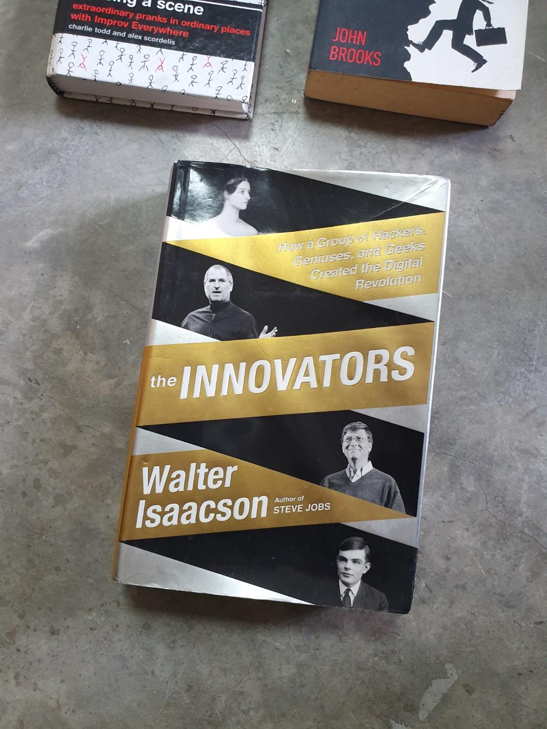 The Innovators, Business Adventures & Causing a Scene by Improv Everywhere