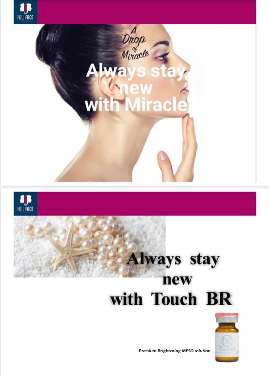 Touch BR! Full size professional quality for microneedling, mesotherapy , Aqua gold, derma roller