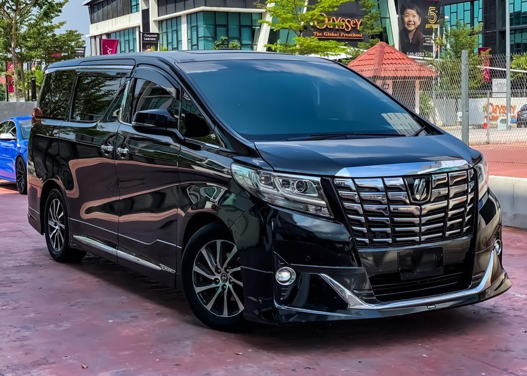 TOYOTA ALPHARD 3.5 EXECUTIVE LOUNGE HIGH SPEC FOR SALE !!! SEWABELI BERDEPOSIT