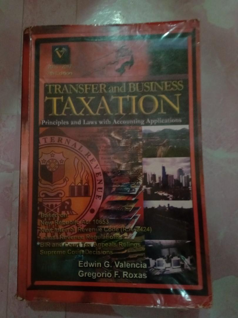 Transfer and Business Taxation Principles and Laws with Accounting Applications 7th Edition