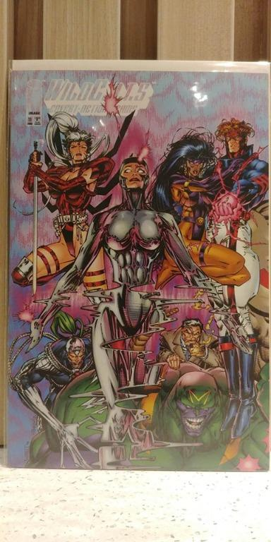 Wildcats Covert Action Teams (1992) # 11B WHILCE PORTACIO COVER 1st appearance of Majestic