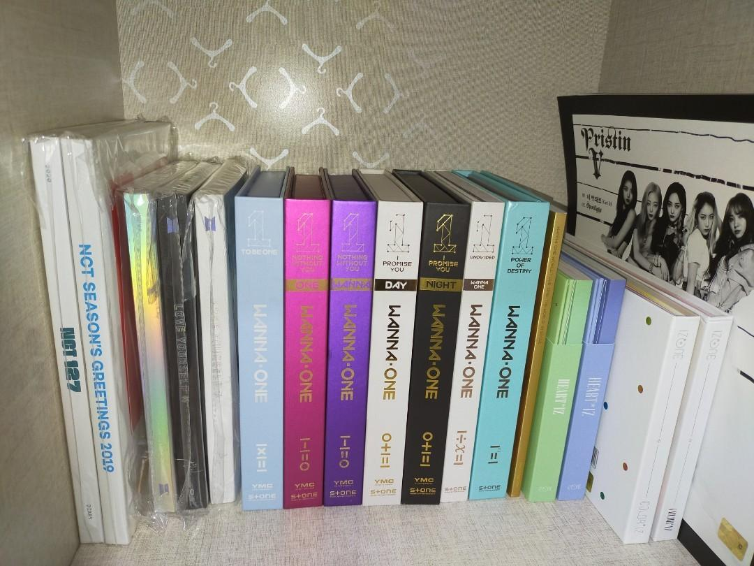 WTS Kpop Unsealed Album