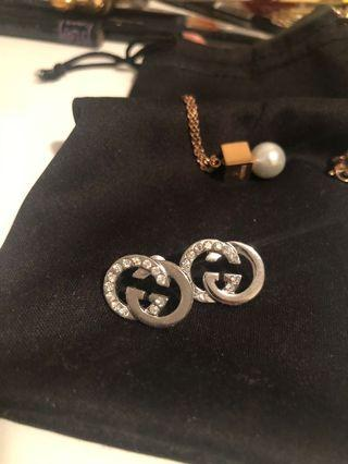 Coco and GG earrings / keychain LV