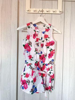 100% Authentic Kate Spade  - Floral Romper