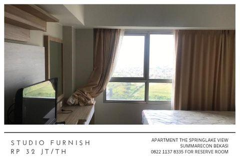 Studio Furnish Apartment The Springlake View Summarecon Bekasi 32 jt/th