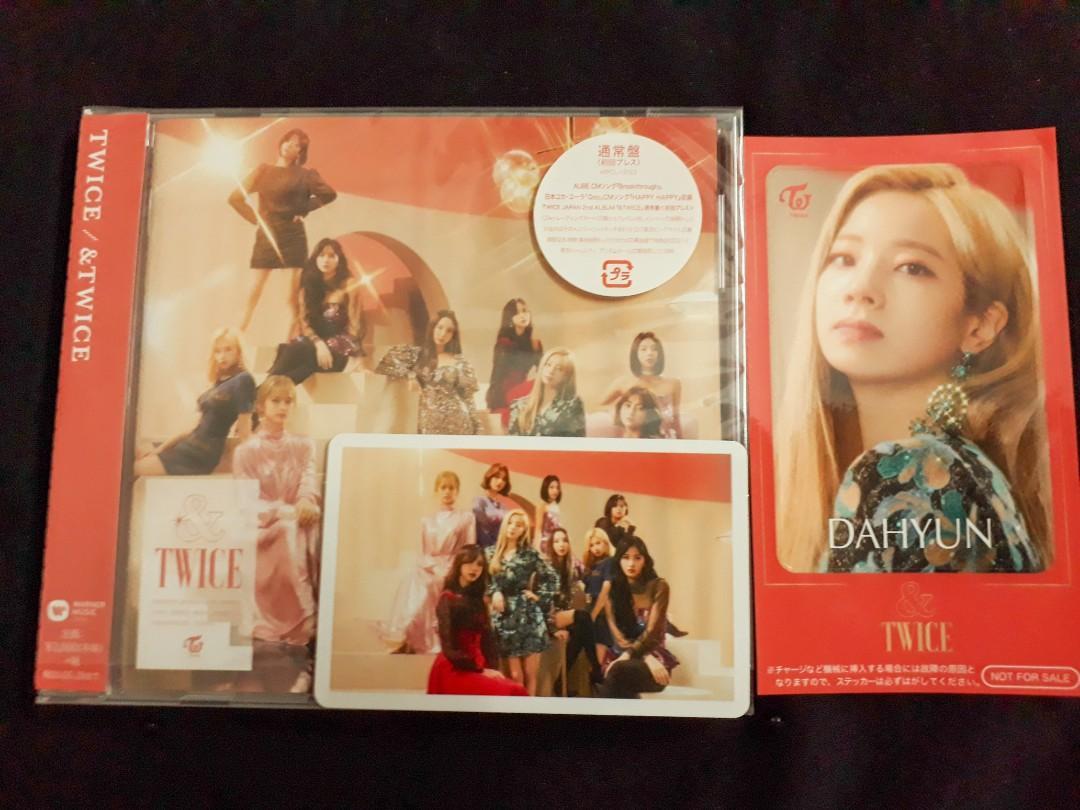 [ WTS ] TWICE JAPAN 2nd ALBUM [ &TWICE ] Regular Ver