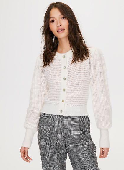 BNWT aritzia  wilfred alessia sweater cardigan sz s