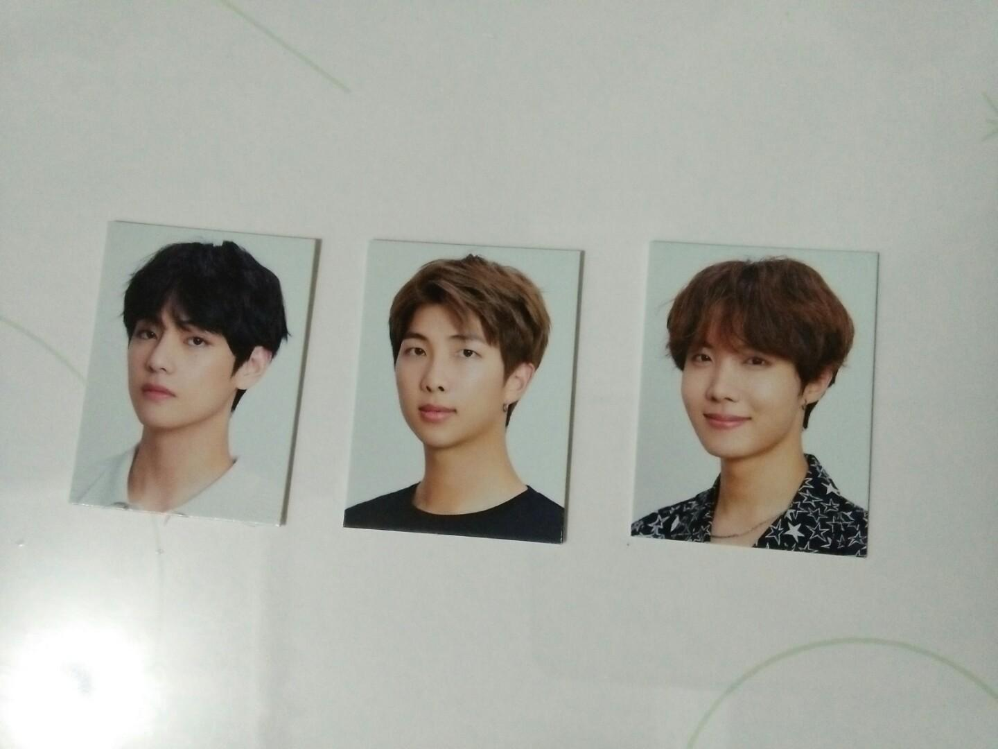 BTS Season's Greetings 2020 Messages Card and Id Photo