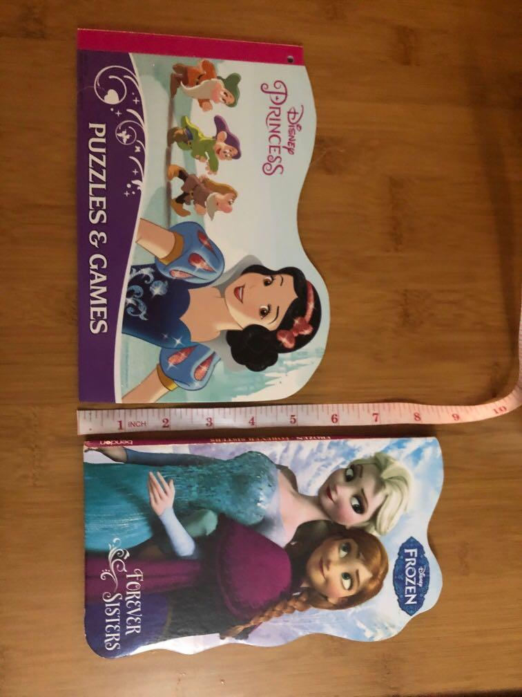 Disney Frozen board book Forever Sisters + Princess activity book free