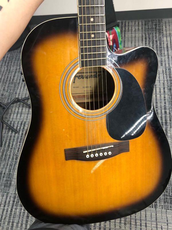 Fernando Dg 200ce Acoustic Guitar Music Media Music Instruments On Carousell