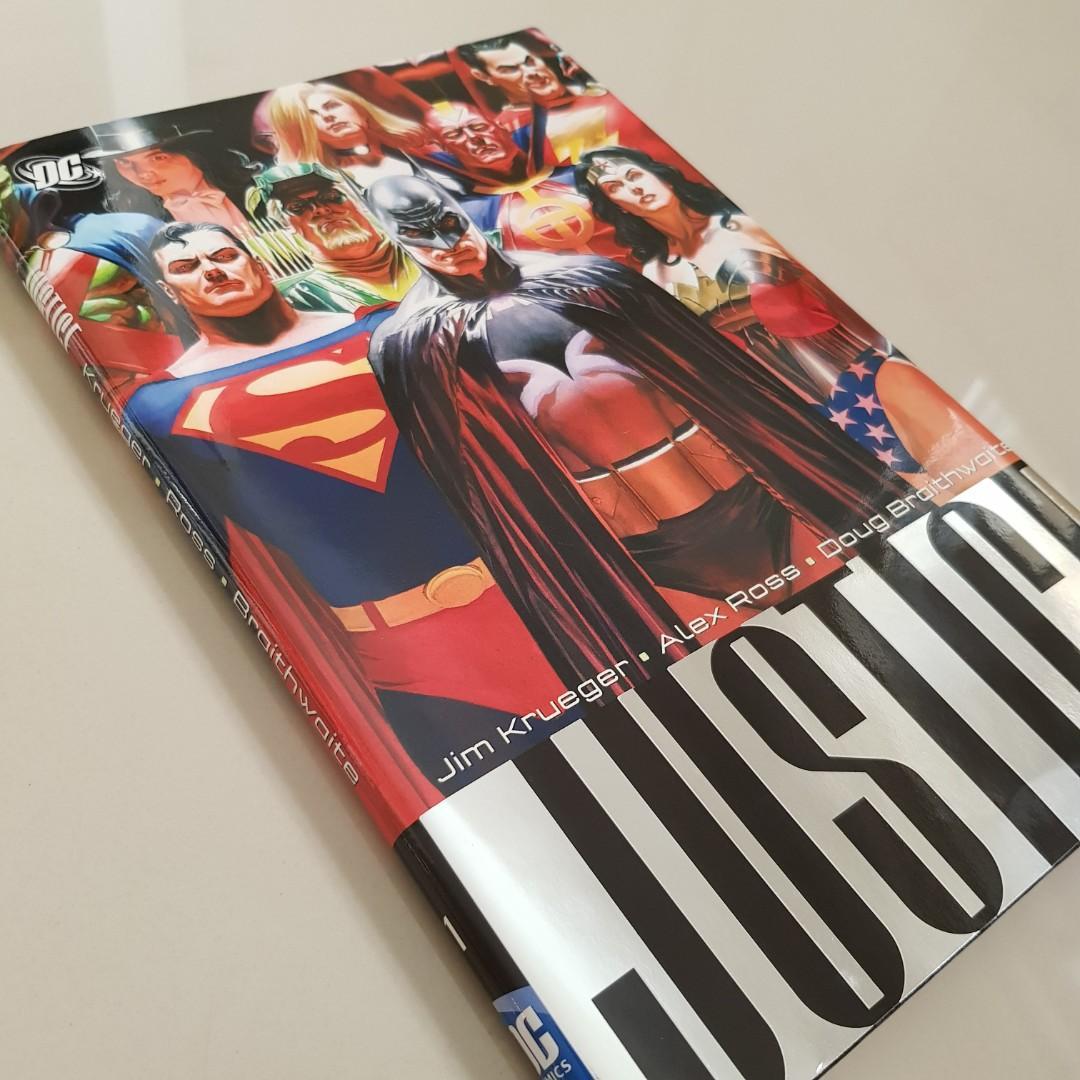 JUSTICE Volumes 1-3, Complete Series (Alex Ross, Jim Krueger)