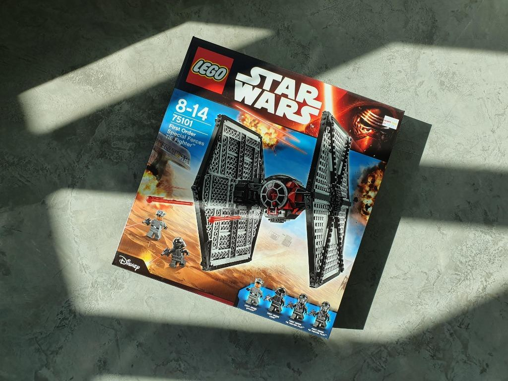 NEW AND SEALED LEGO 75101 STAR WARS FIRST ORDER SPECIAL FORCES TIE FIGHTER