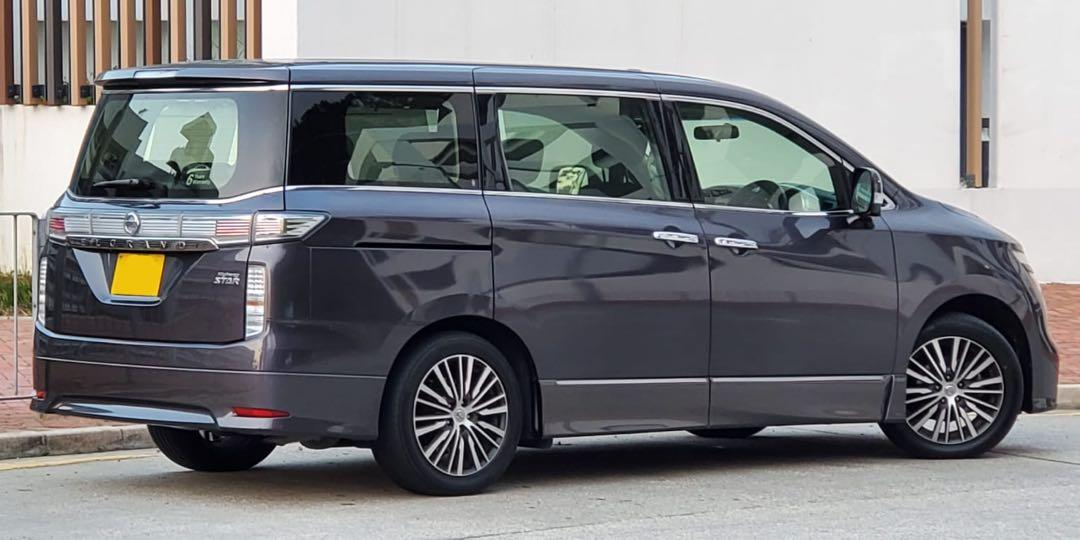 Nissan Elgrand 250 Highway Star Facelift Auto