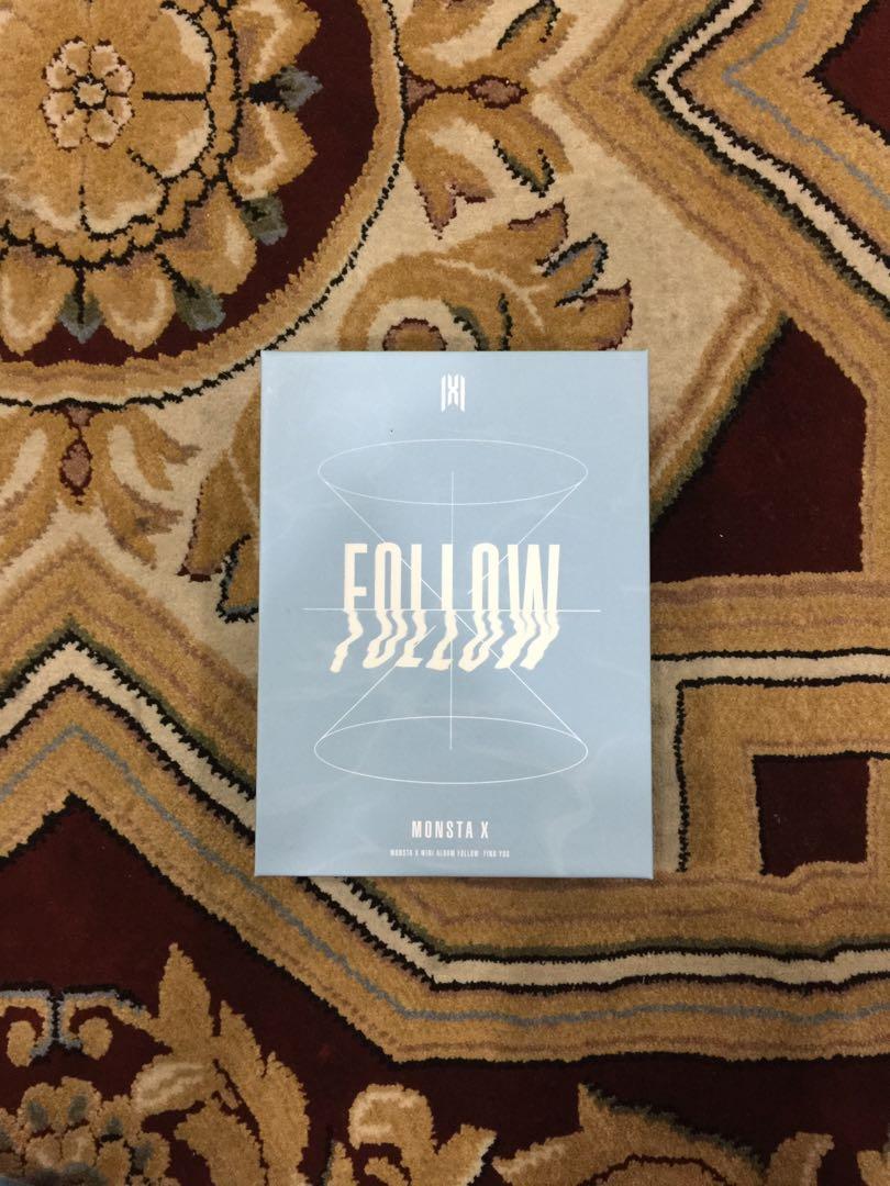 [READYSTOCK] MONSTA X - FOLLOW : FIND YOU Kihno KiT Loose Set