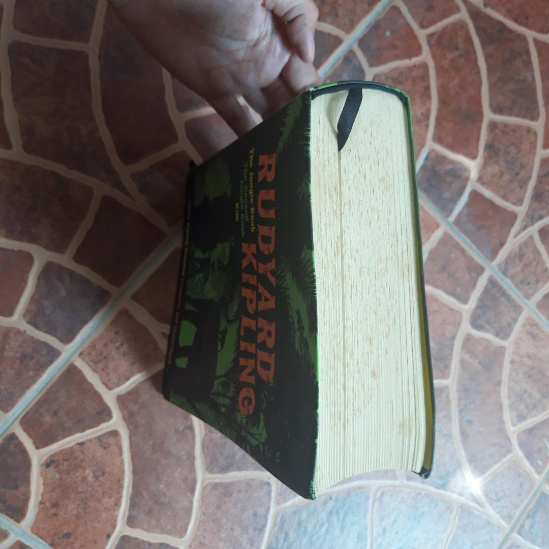 Rudyard Kipling Classics: The Jungle Book, The Second Jungle Book, Kim