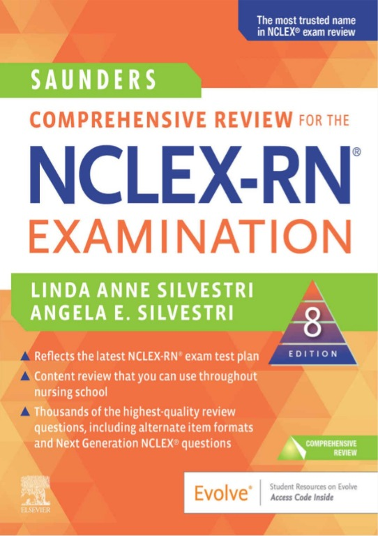Saunders Comprehensive Review for the NCLEX RN® Exam 8th Edition
