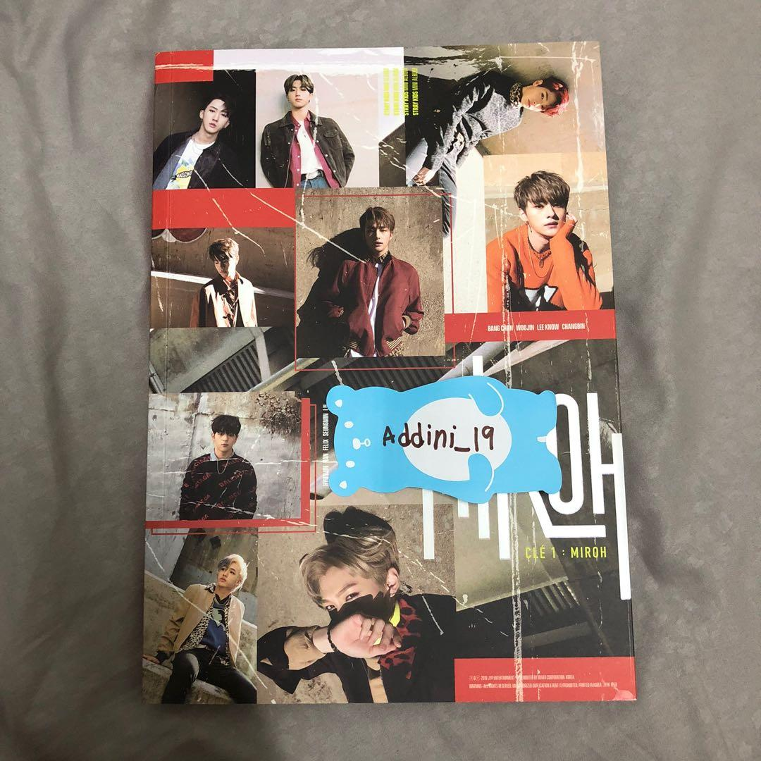 [SIGNED CD - Chan] Stray Kids <Clé 1: MIROH> Clé 1 Ver.