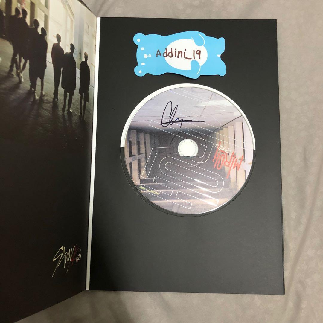 [SIGNED CD - Chan] Stray Kids <Clé 1: MIROH> Clé 1 Ver.