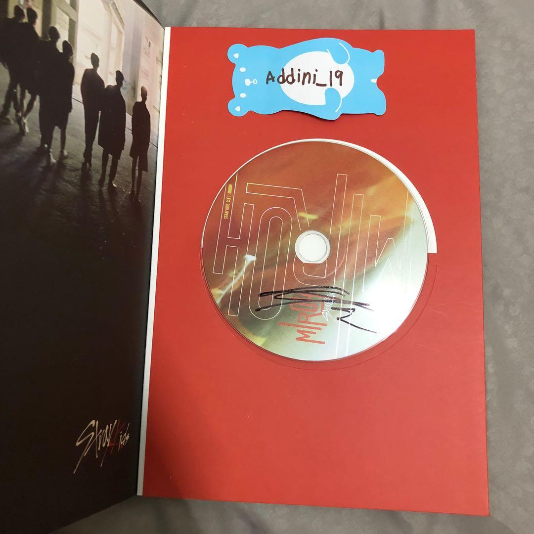 [SIGNED CD - LEE KNOW] Stray Kids <Clé 1: MIROH> MIROH Ver.