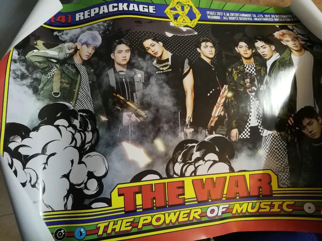 The power of music poster and kokobop (Sehun) *TUBE*