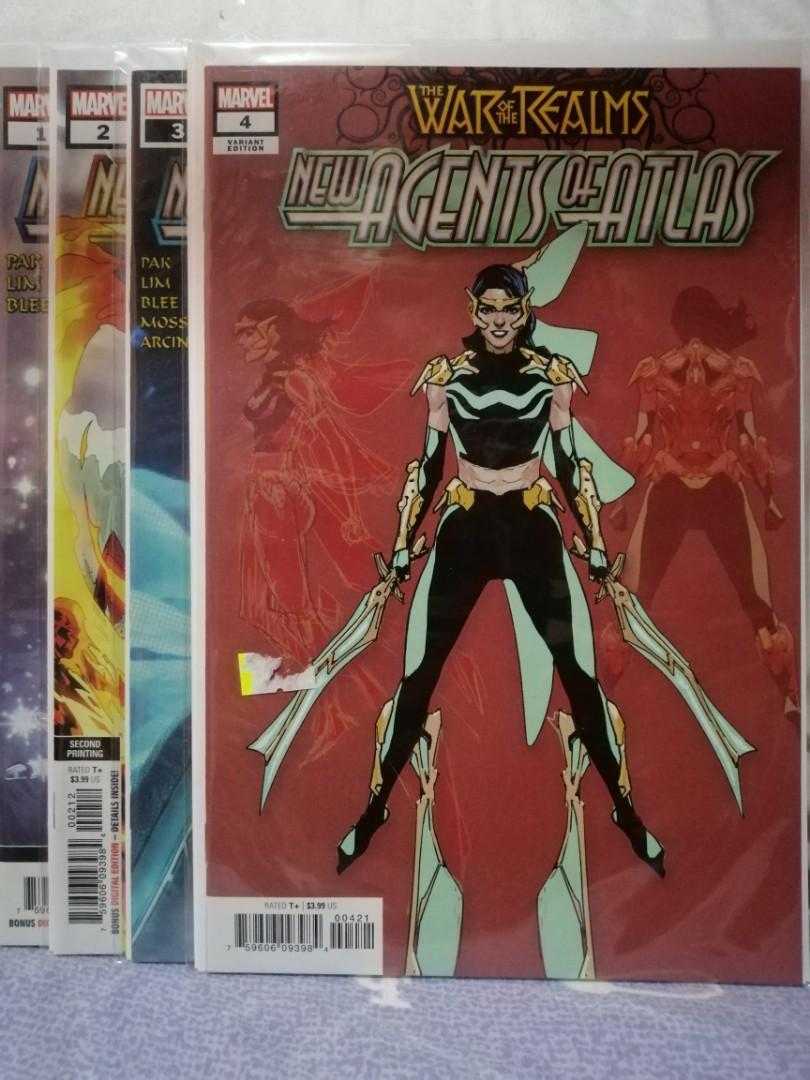 (Repriced) The War of the Realms (Marvel Comics) New Agents of Atlas