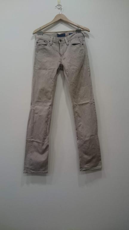 uniqlo +J jill sander 米色牛仔褲