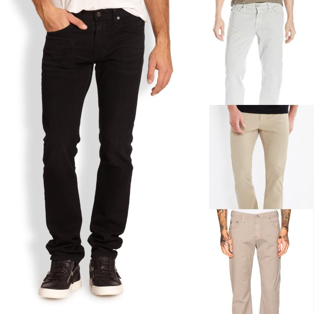 Various Adriano Goldschmied (AG) Men's Straight Slim Pants