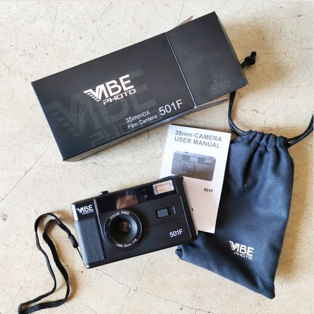 VIBE 501F 35MM REUSABLE FILM CAMERA, Photography on Carousell