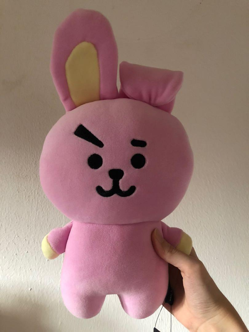 (WTS fast) Official BT21 Cooky Mini Flat Body Cushion