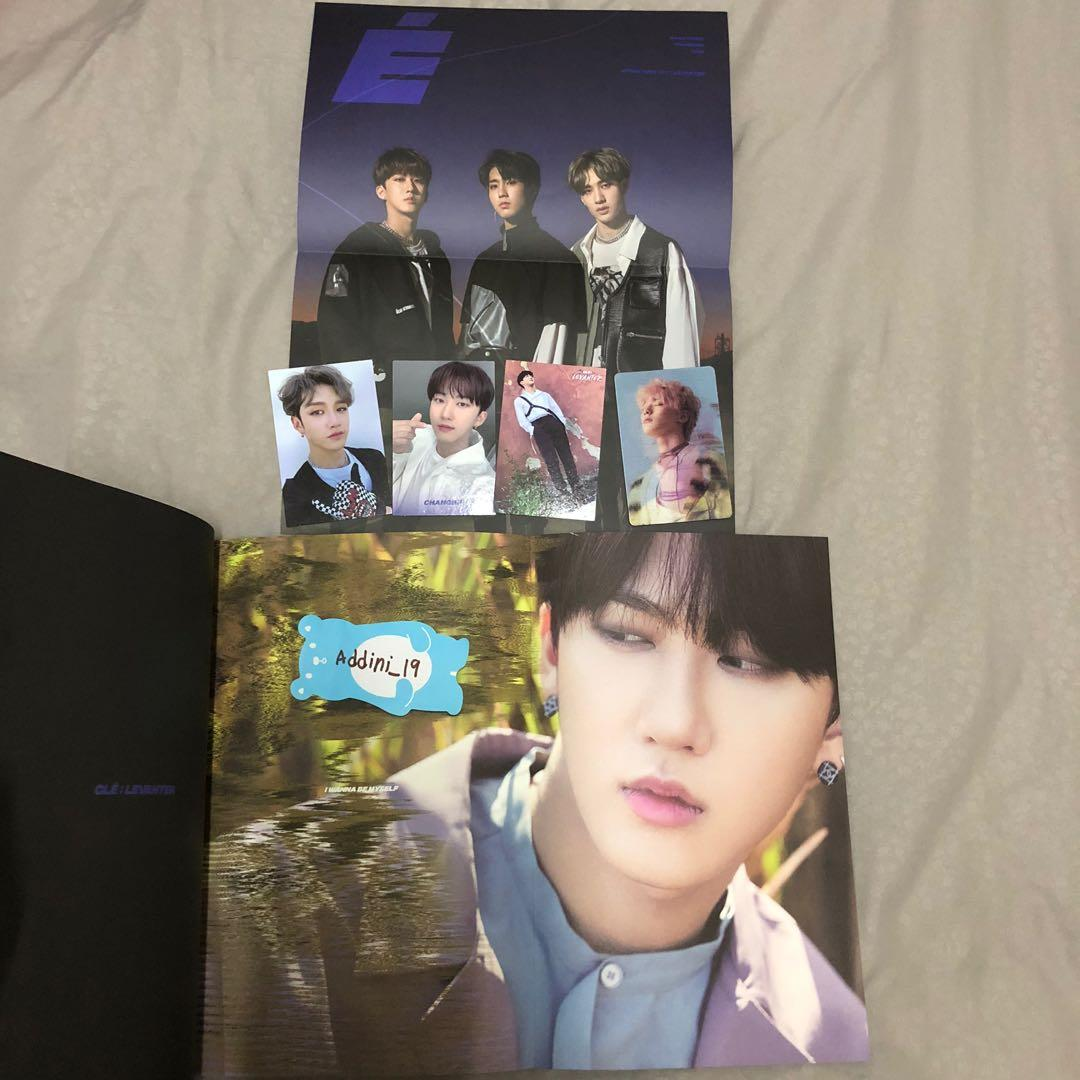 [WTS] (Changbin front page) Stray Kids <Clé: Levanter> Limited Ver (Unsealed)