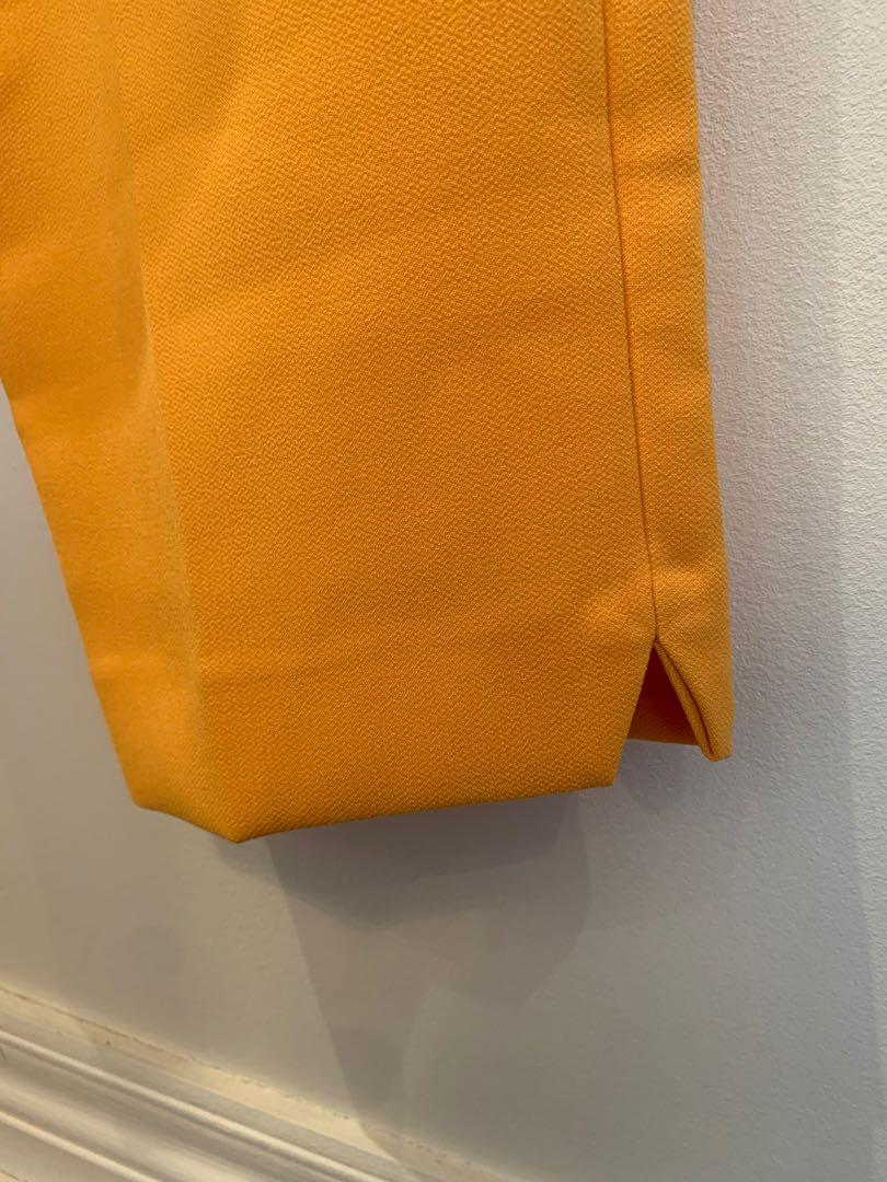 Yellow/Orange High-waisted Topshop Trousers (size 4)