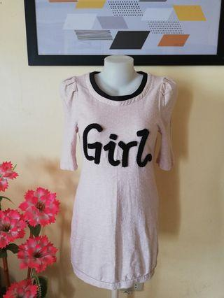 Girl Mini Dress/Long Top