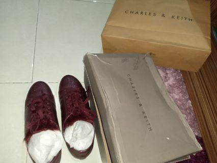 Charles n keith snickers