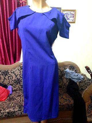 #makinHoki Blue Dress