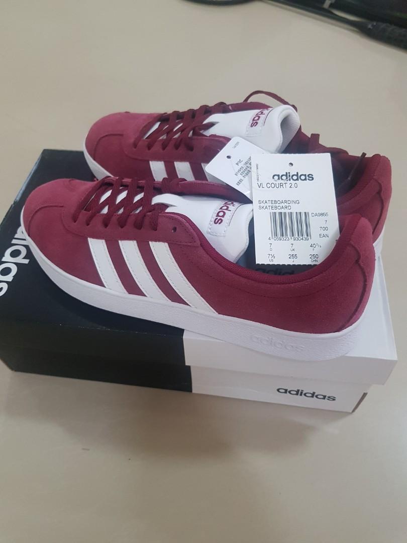 Adidas VL Court, Women's Fashion, Shoes