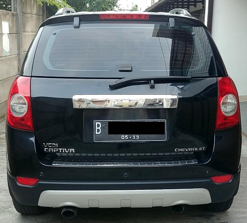 Chevrolet Captiva Diesel 2013 Facelift New Model - Service Rutin Terus