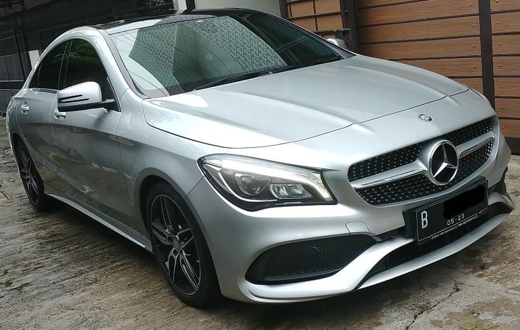 Mercedes Benz CLA 200 Sport AMG 2016 Warranty Mercy indo s/d 2023 , Perfect, odo 6Rb