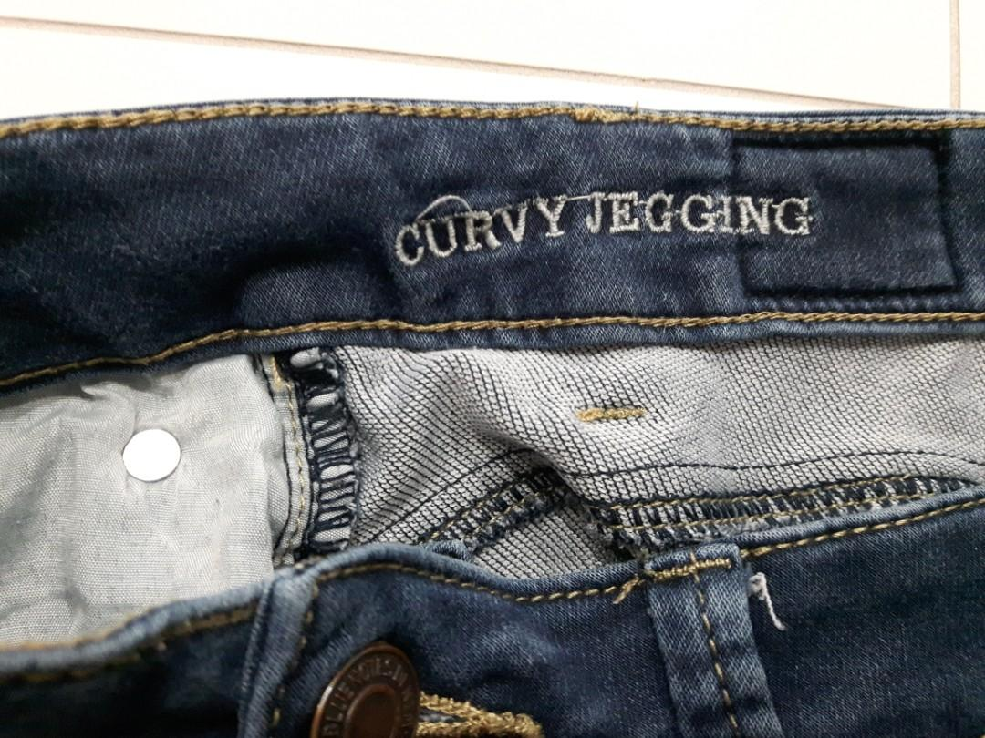 CURVY JEGGING SIZE SMALL (SUPERSOFT SWEETHEART BUTT DESIGN MID RISE)