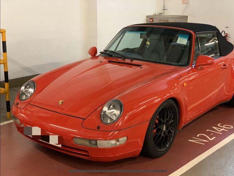 Porsche 911 993 C2 Cab Manual
