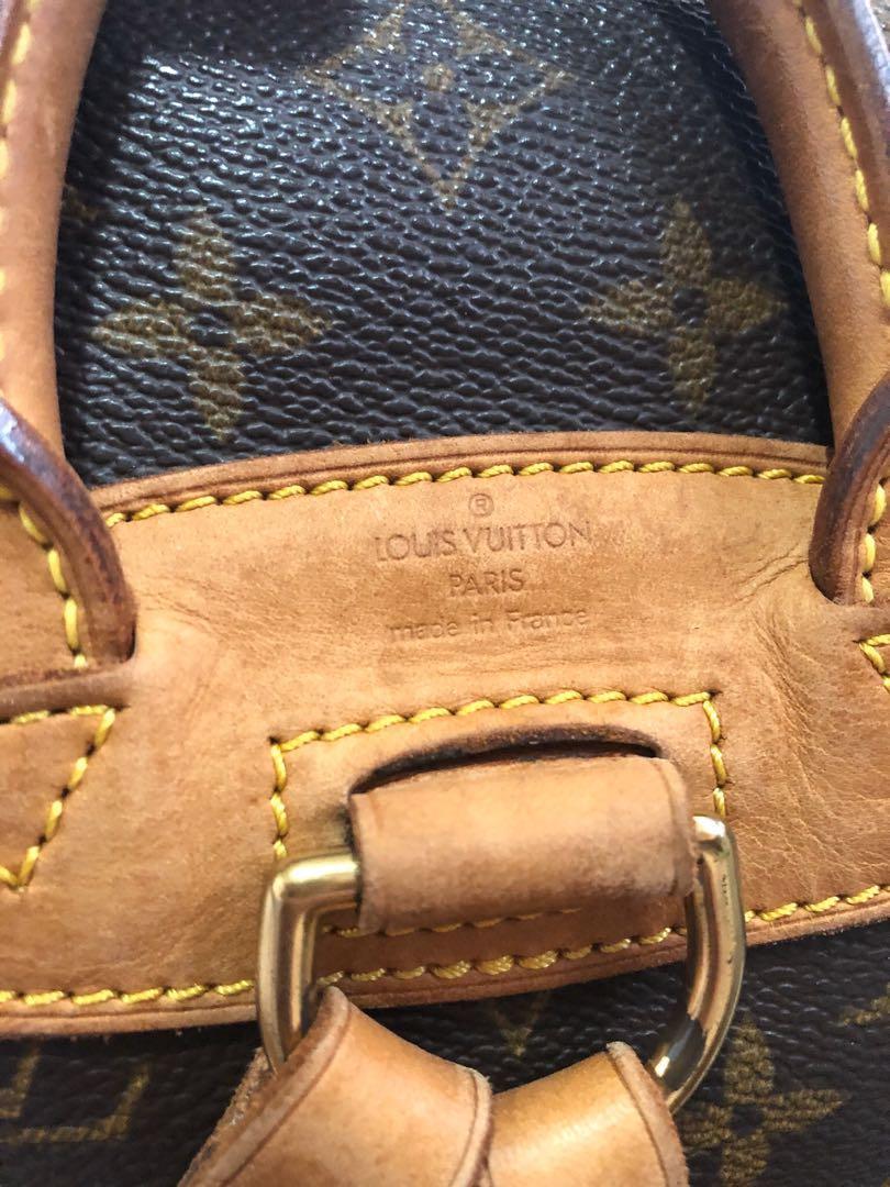 RARE & Authentic Louis Vuitton Mini Montsouris monogram backpack