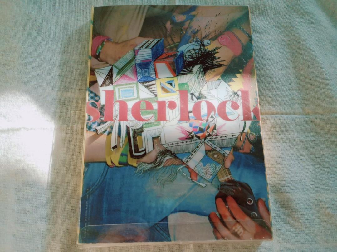 SHINee Sherlock Album (CD + photobook + Taemin PC)